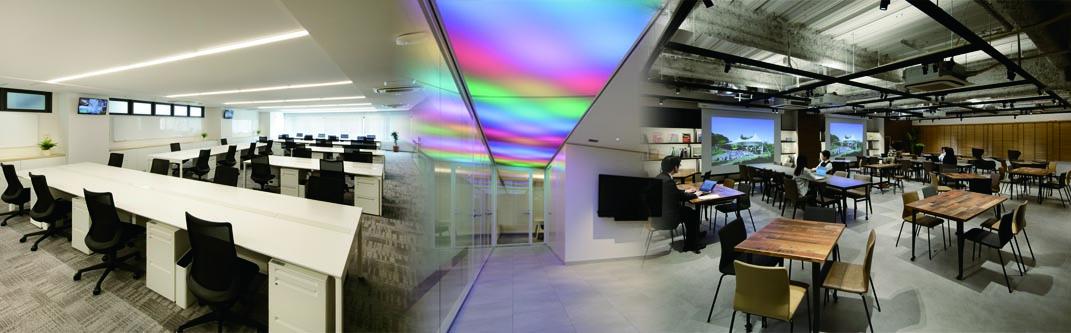 「膜や」による新スタイルのオフィスが誕生