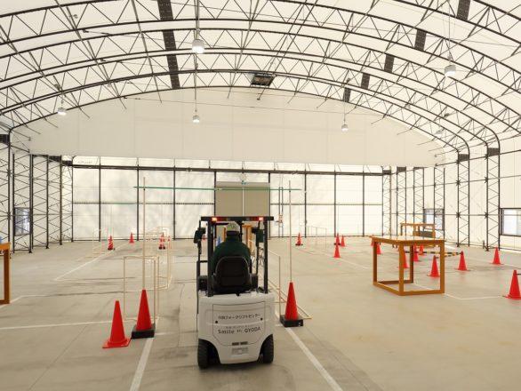 テント倉庫を施工する際の全体的な流れを丁寧に解説