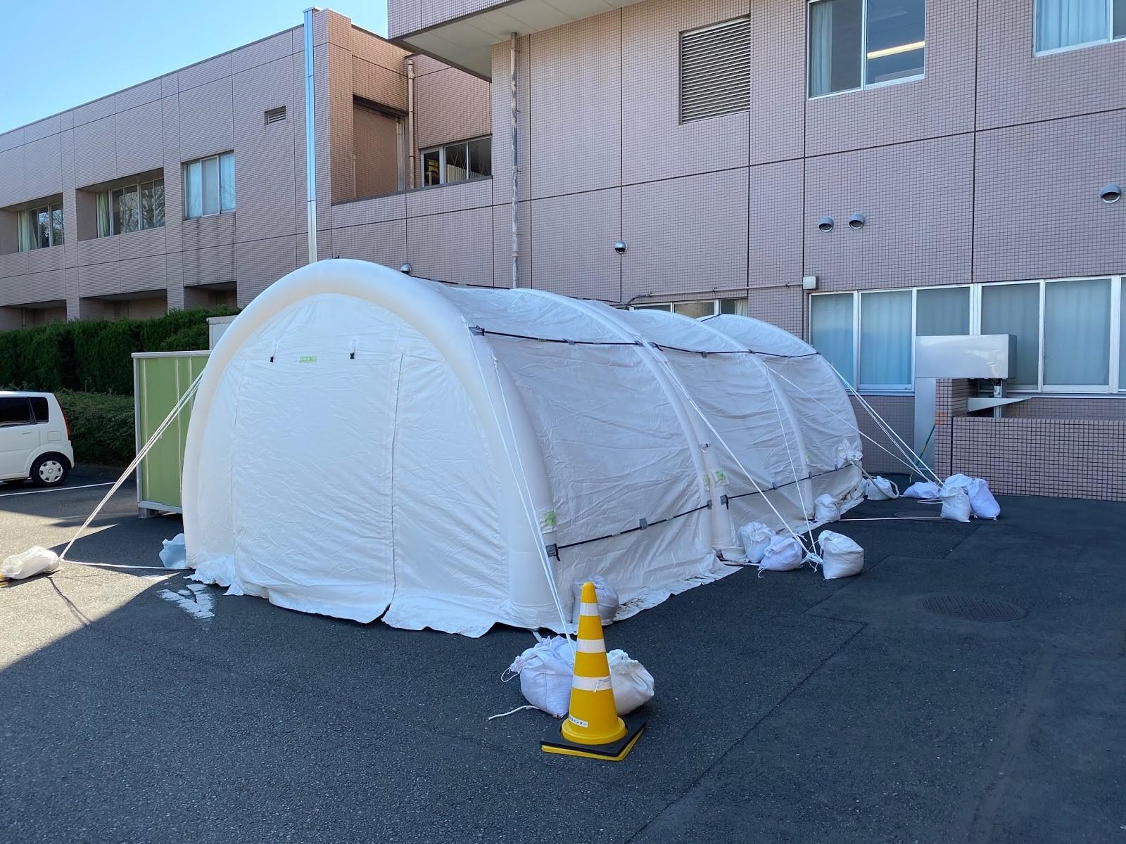 新型コロナウイルス対策に陰圧テントが不可欠である7つの理由