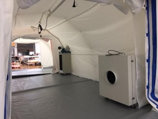医療従事者が押さえるべき「医療用陰圧テント」の機能と目的