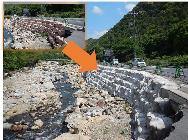 """【水害復旧事例】水をかけるだけでコンクリート面をつくる""""膜""""とは"""