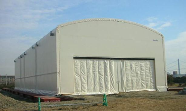 業務用の移動式大型テントの特徴と移設事例の紹介