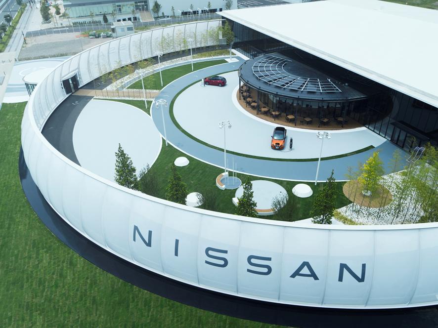 <ニッサン パビリオン> ETFE膜構造で表現する「人とクルマの未来」