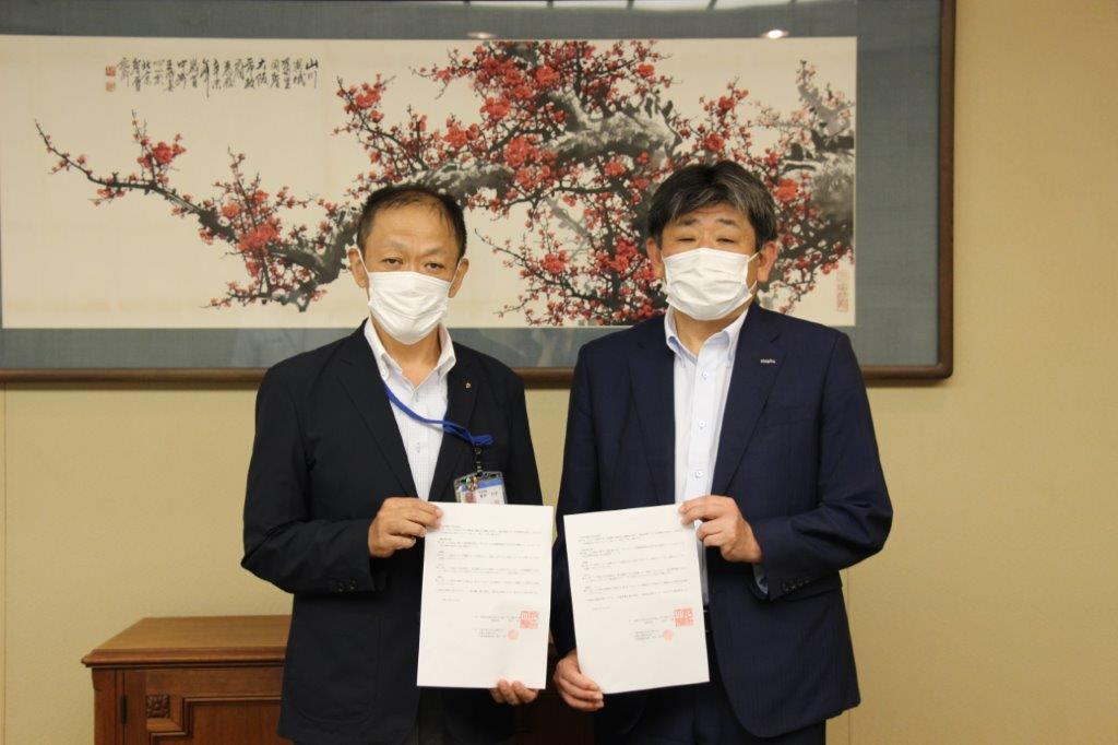 【災害協定】防災関連製品で大規災害の早期復旧を支援
