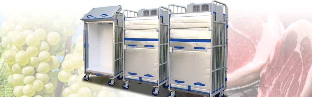業界初、鮮度を保つ「氷温管理輸送」が実現!