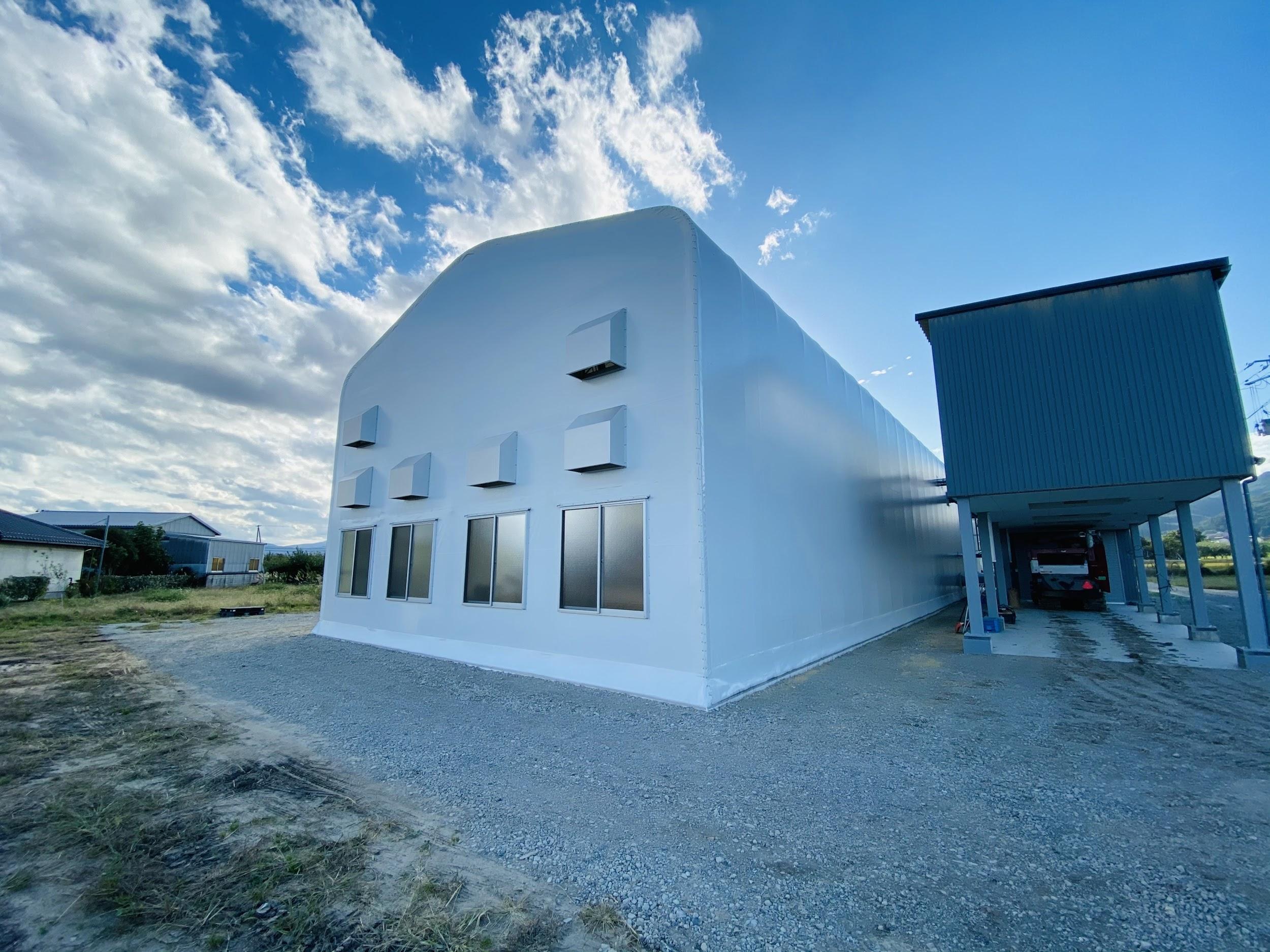 稲作農家が地域共用のライスセンターに活用!補助金を利用した「テント倉庫」導入事例│ 導入企業様インタビュー