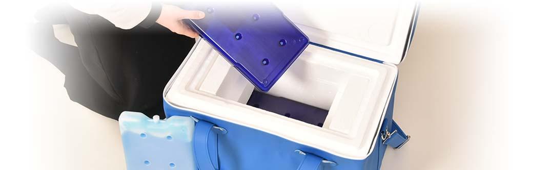 医薬品向け輸送用保冷容器「メディカルボックス」