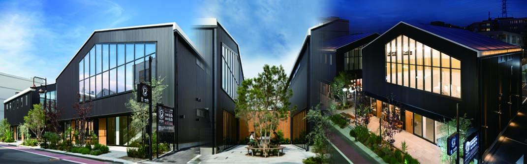 横浜に膜構造の事務所&店舗がオープン!