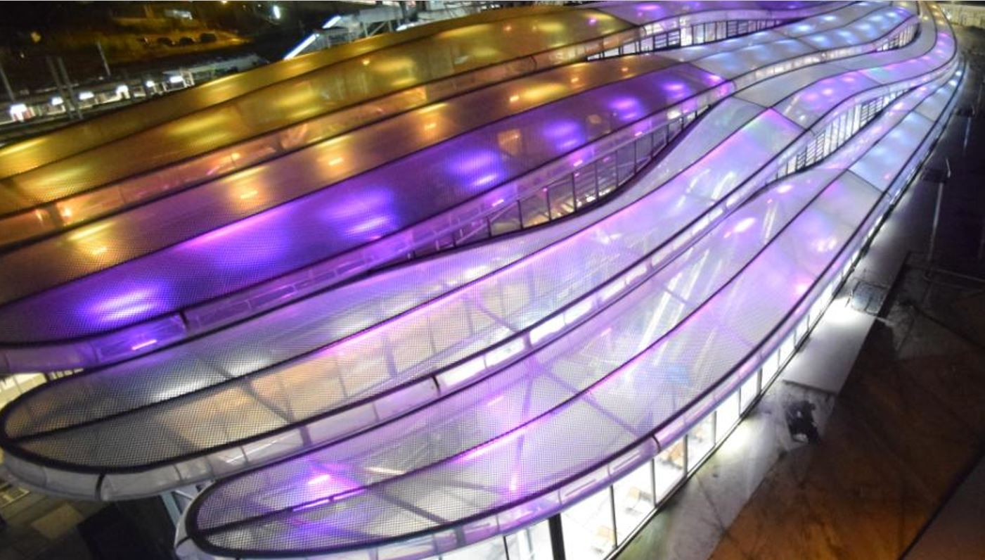 フランス・レンヌ駅に大型ETFEフィルム屋根が完成