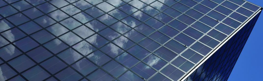 日本最大級、発電するガラス壁の事務所ビル