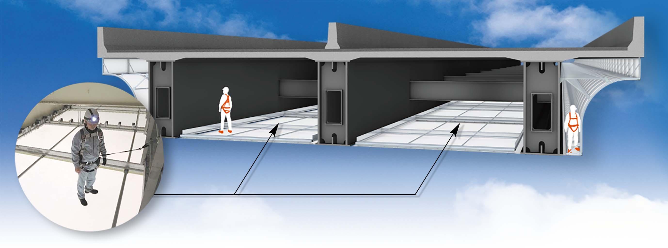 道路の保守点検に膜というイノベーション