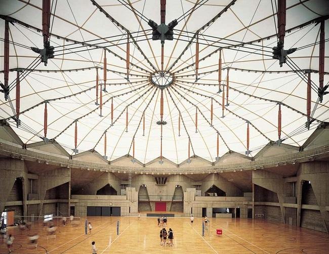 ドームの内側