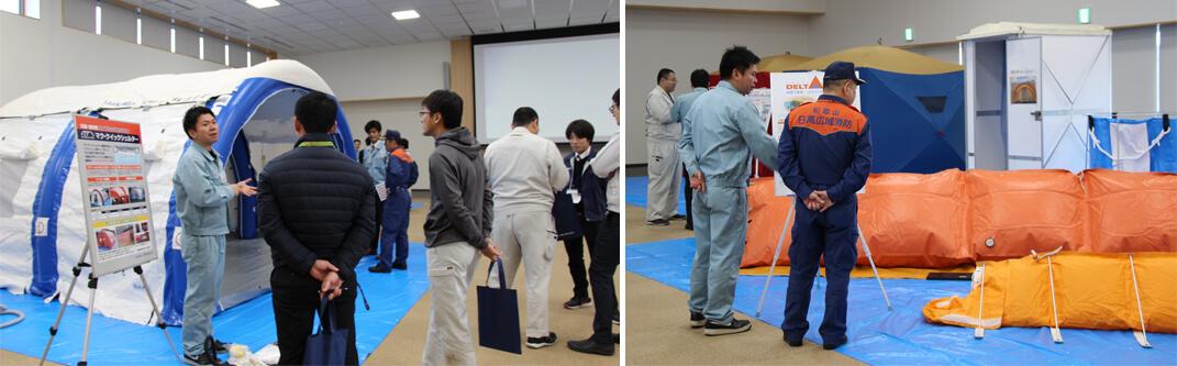 和歌山で防災製品の大規模デモンストレーションを初開催